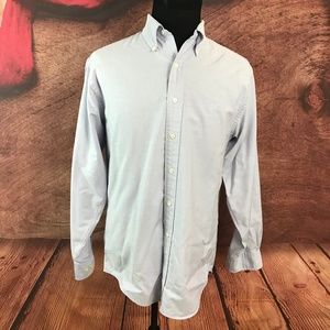 Brooks Brothers Purple Button Front Shirt Medium